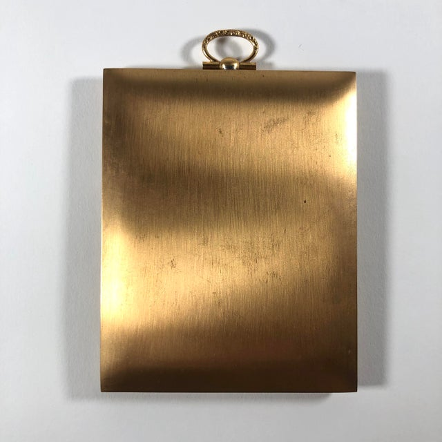 Antique Bronze Travelling Picture Frame For Sale In Cleveland - Image 6 of 7