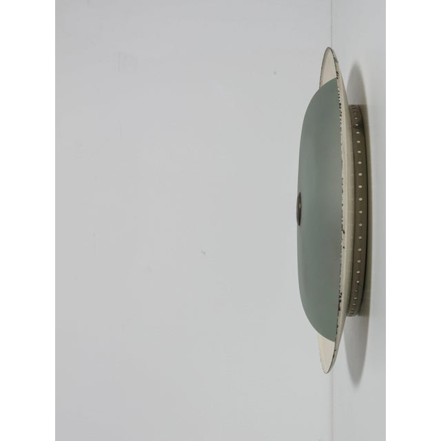 1950s Rare Wall / Ceiling Lamp Attributed to Fontana Arte For Sale - Image 5 of 6