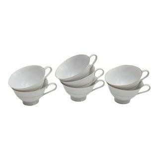Heinrich Royal Selb Teacups - Set of 7 For Sale