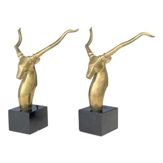 Antelope Bookends For Sale