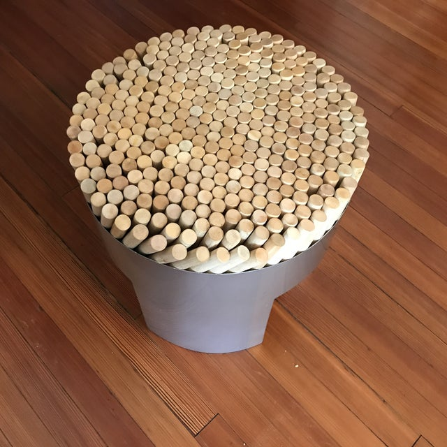 Contemporary Kenneth Cobonpue Chiquita Stool For Sale - Image 3 of 7