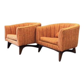 "1960s Vintage Kroehler ""American Leisure"" Chairs- A Pair For Sale"