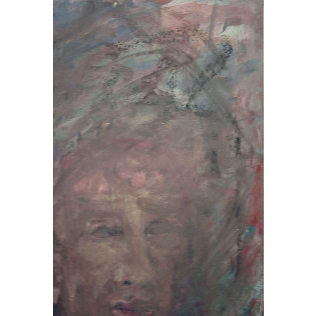 Abstract Expressionism Portrait of a Man For Sale - Image 3 of 4
