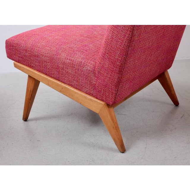 Pair of Jens Risom 21 Chair 1940s USA for Knoll Associates For Sale - Image 6 of 7
