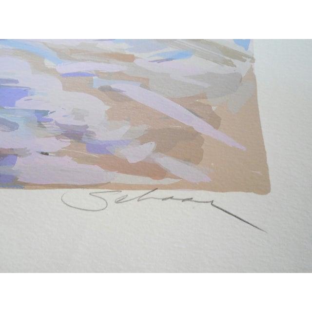 """Riders Up"" Signed Serigraph by Robert Schaar - Image 5 of 10"
