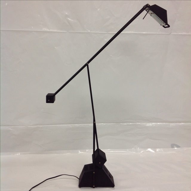 Black Modernist Kinetic Balance Lamp - Image 2 of 7