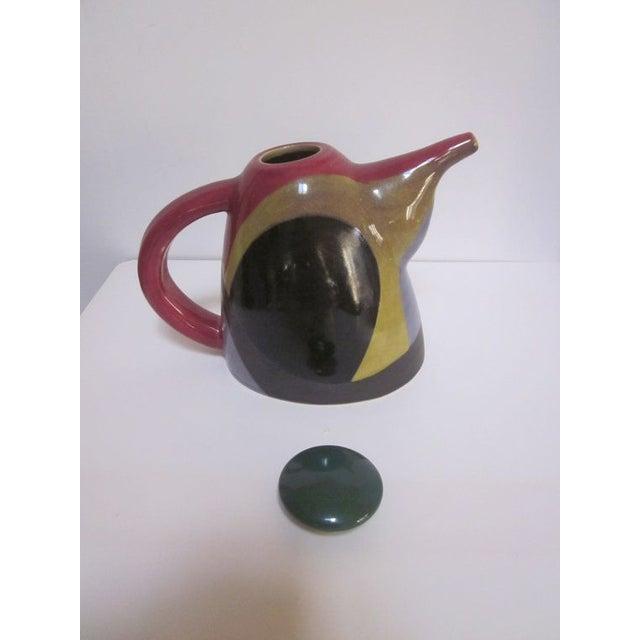 Signed Chris Simoncelli Modernist Studio Teapot - Image 3 of 3