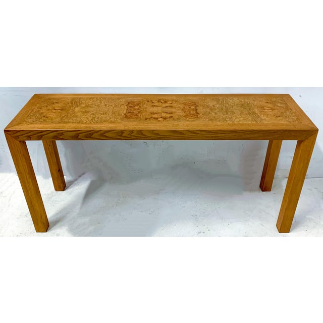 1970s 1970s Lane Burlwood Console Table For Sale - Image 5 of 5