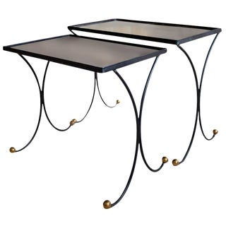 Jean Royère Style Nesting Tables- Set of 2 For Sale