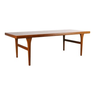 BOLD Danish Modern Coffee Table Attributed to Johannes Andersen For Sale