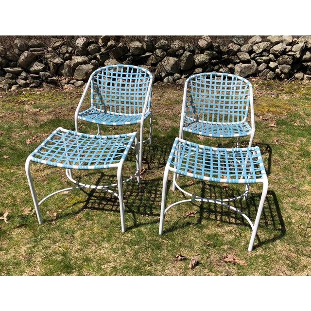 Tadao Inouye for Brown Jordan Chairs & Ottoman - Set of 4 - Image 6 of 9