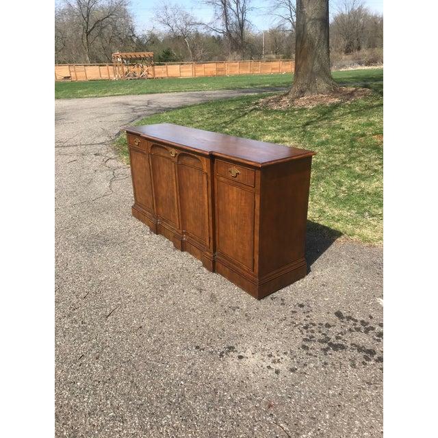 Art Deco Art Deco Walnut Side Board byBaker Furniture For Sale - Image 3 of 9