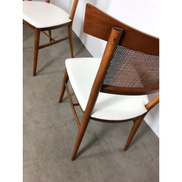 Caning Set of 10 Paul McCobb Cane Dining Chairs, Circa 1950's For Sale - Image 7 of 9