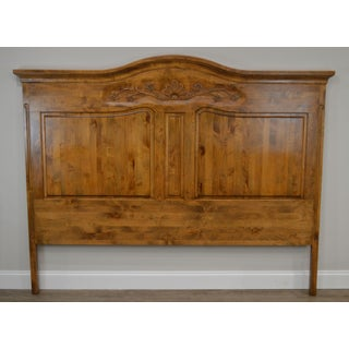 French Country Style Quality High Back Pine King Headboard Preview