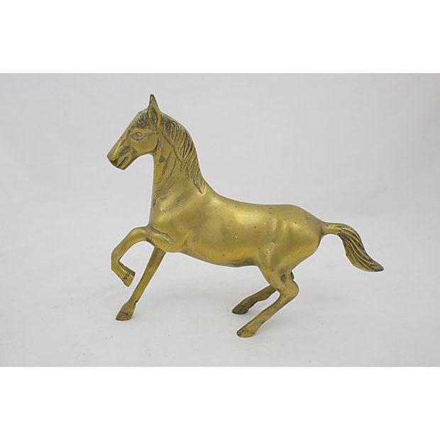 Mid-Century Brass Stallion For Sale - Image 4 of 4