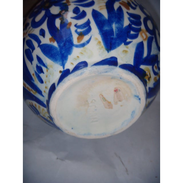 Blue & Gold Hand Painted Teapot - Image 9 of 9