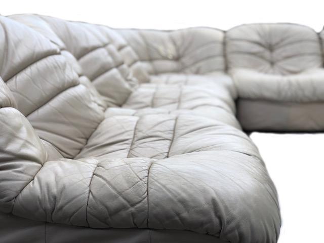 Velda Belgium 70s 6 Piece Sectional Sofa   Image 6 Of 7