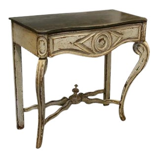 1900s Spanish Console Table With Newer Paint