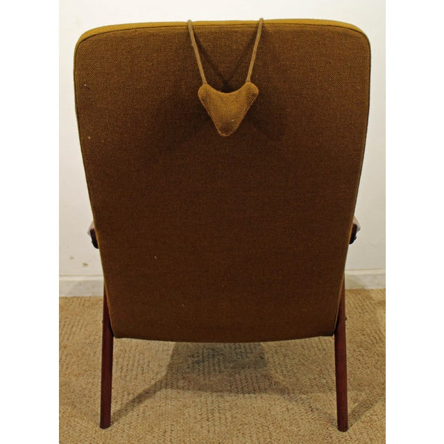 Mid 20th Century Mid-Century Danish Modern Folke Ohlsson Style Teak Lounge Chair For Sale - Image 5 of 9