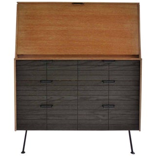 1950s Mid-Century Modern Raymond Lowey for Mengel Co Drop Front Secretary Desk