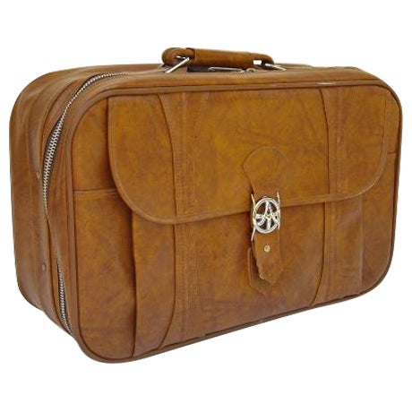 Mid-Century American Tourister Suitcase - Image 1 of 6