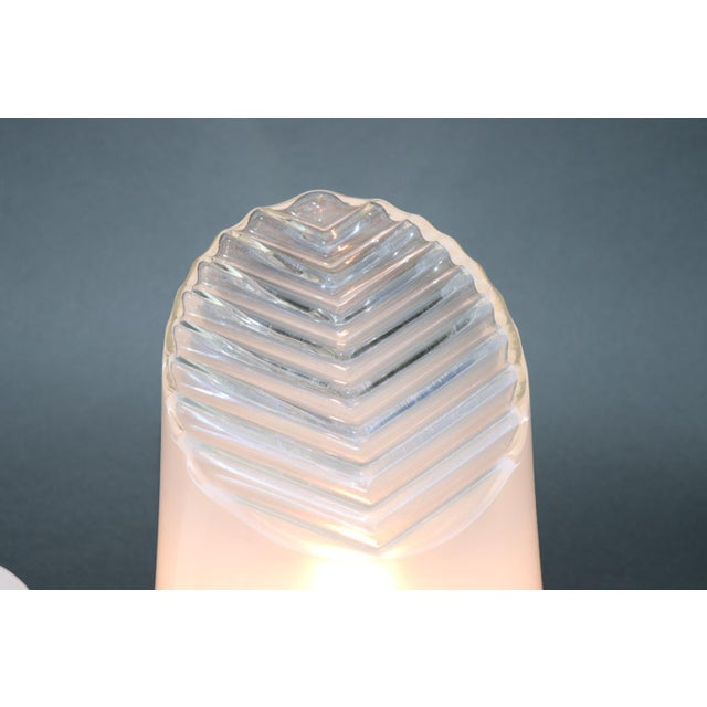 Mid-Century Modern Murano Glass Table Lamps - a Pair For Sale In New York - Image 6 of 8
