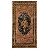 Image of 1970s Vintage Persian Qashqai Rug - 3'11'' X 7'1'' For Sale