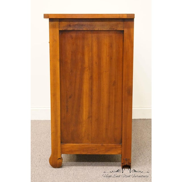 """Hickory Chair Country French Fruitwood 48"""" Double Dresser For Sale - Image 10 of 13"""