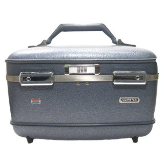 Vintage American Tourister Overnighter Luggage For Sale
