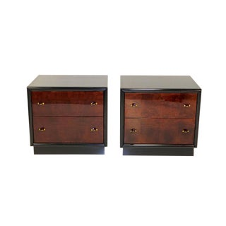 Restored Pair of Henredon Scene Three Nightstands