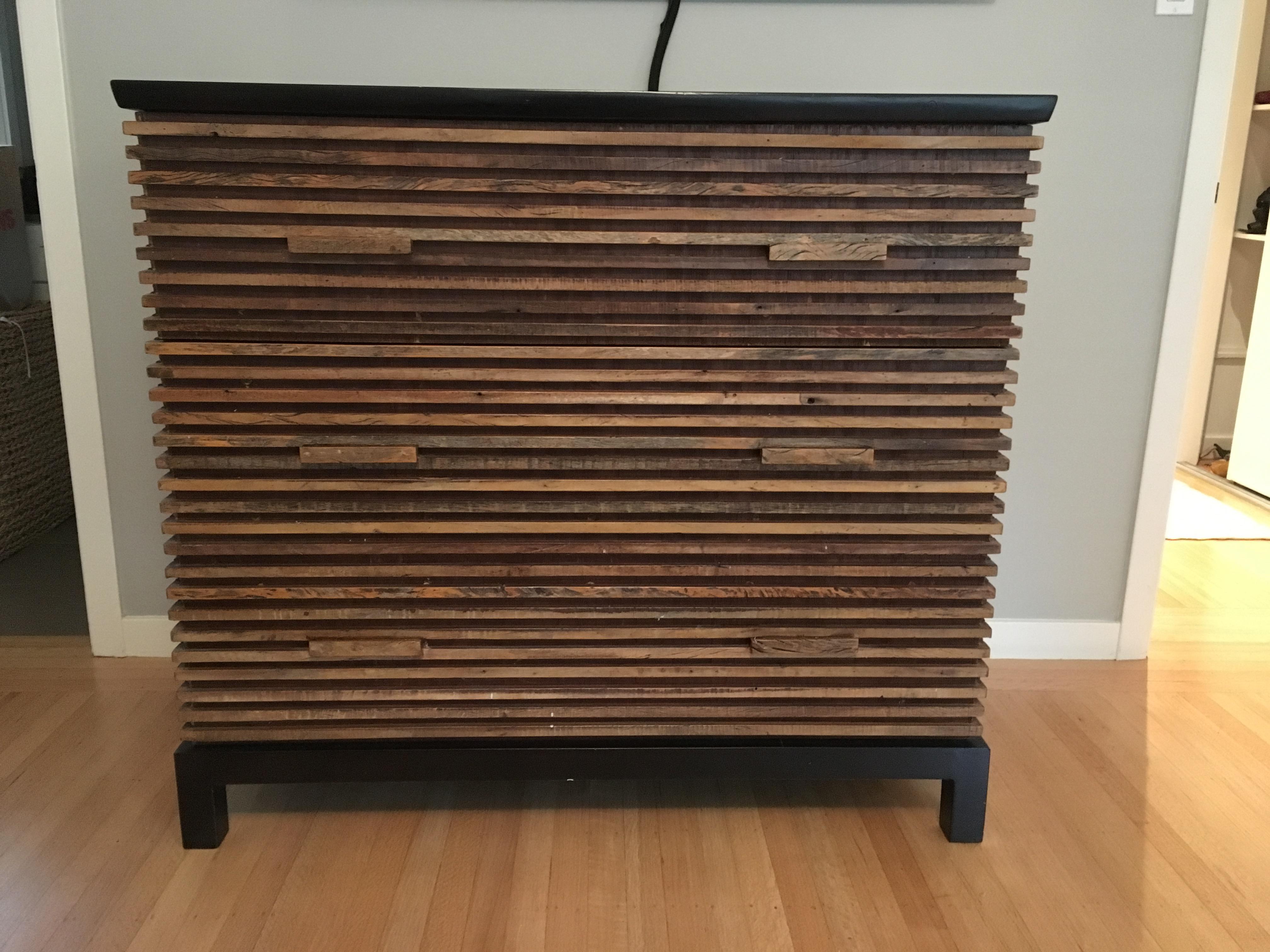 peroba wood furniture. Environment Furniture Reclaimed Peroba Wood Dresser - Image 6 Of