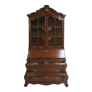 Henredon Bombay Four Centuries French Ladies Writing Drop Front Secretary Desk