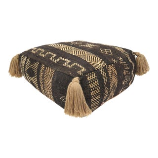 Vintage Moroccan Pouf For Sale