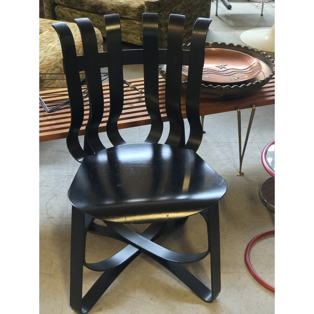 1990s Frank Gehry Hat Trick Chair For Sale - Image 5 of 5