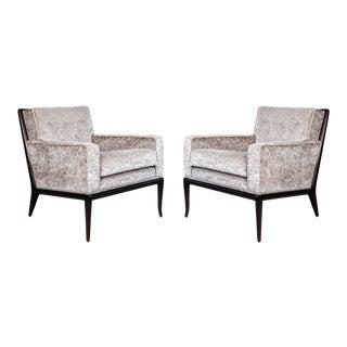 Robsjohn-Gibbings for Widdicomb Lounge Chairs For Sale