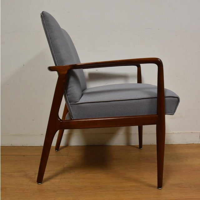 Mid-Century Modern Stow Davis Lounge Chair For Sale - Image 5 of 11