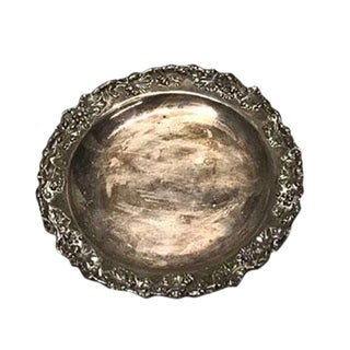 Traditional Small Silver Plate For Sale