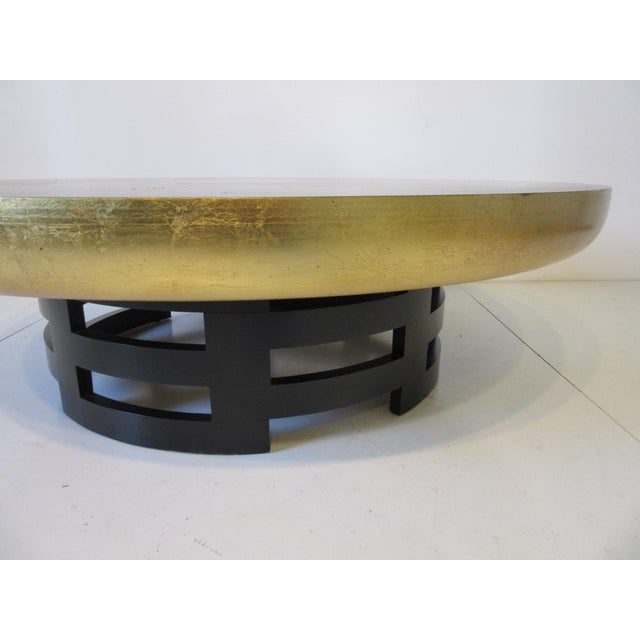 Asian Kittinger Asian Regency Styled Lotus Coffee Table For Sale - Image 3 of 9