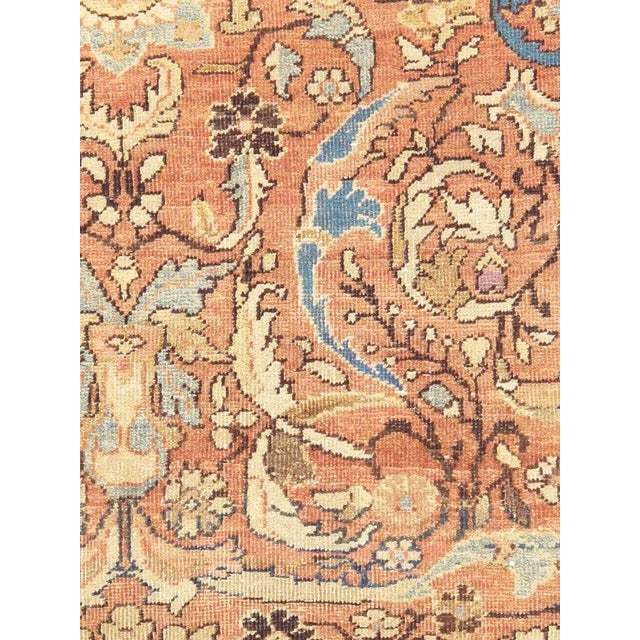 "Antique Persian Mahal Rug- 12'10"" X 17' 0"" - Image 4 of 5"
