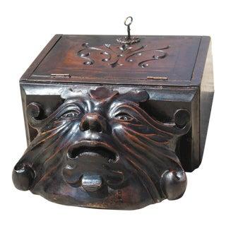 19th Century Antique Demon Letter Box For Sale
