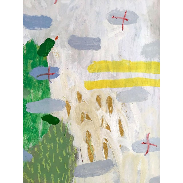 Fresh Abstract Expressionist Painting by Ana Cano Brookbank For Sale - Image 6 of 6