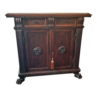 17c Italian Renaissance Walnut Credenza or Cabinet For Sale