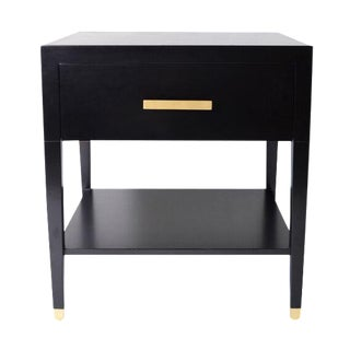 Carlyle End Table in Ebony
