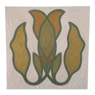 Mirrored Leaf Emblem Painting