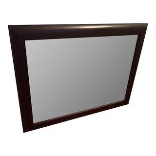 Restoration Hardware Leather Mirror