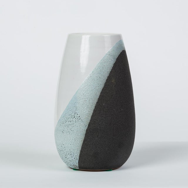 Glazed Ceramic Vase by Ettore Sottsass for Bitossi For Sale - Image 12 of 12