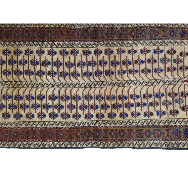 "Leon Banilivi Persian Baluch Rug - 3'5"" X 6'3"" For Sale - Image 4 of 5"