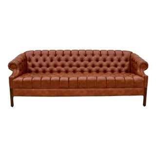 Swedish Chesterfield Style Sofa