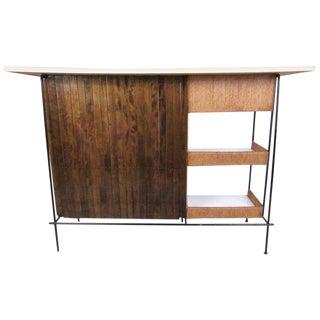 Arthur Umanoff for Raymor Vintage Modern Slat Bar For Sale