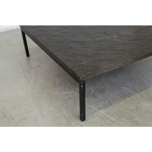 Square Stone Top Coffee Table - Image 6 of 9